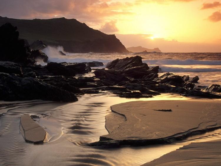 Clogherhead Beach, Dingle Peninsula, County Kerry, Ireland