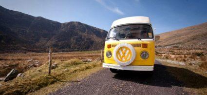 Camper in Irlanda