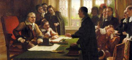 Cromwell e Guglielmo d'Orange