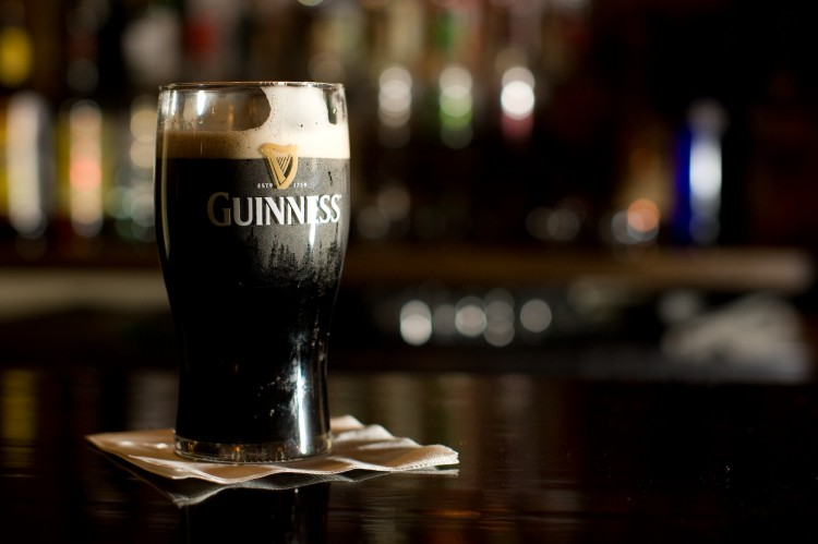 Una pinta di Guinness | © Just in Parr