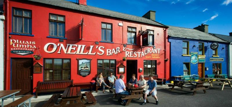 Itinerario costa sud ovest Irlanda