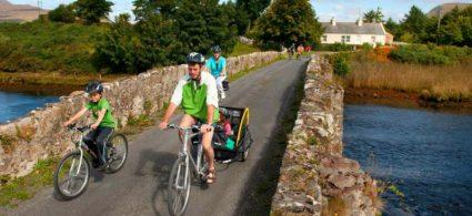 Itinerario in bicicletta nel Burren
