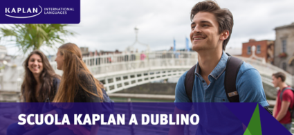 Corsi di inglese a Dublino con Kaplan International Languages