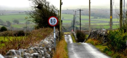 Limiti di velocità in Irlanda