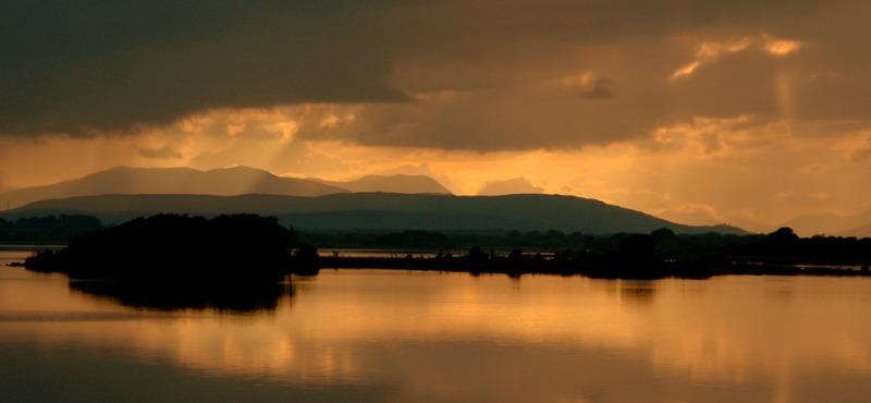 Itinerario intorno al Lough Corrib