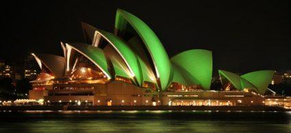 Il mondo si tinge di verde per San Patrizio
