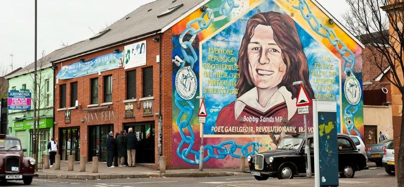 I murals di Belfast