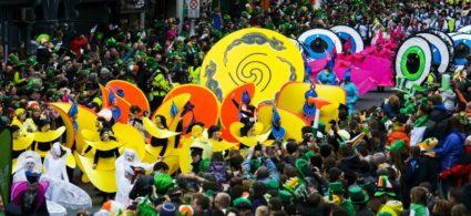 La parata di San Patrizio a Dublino