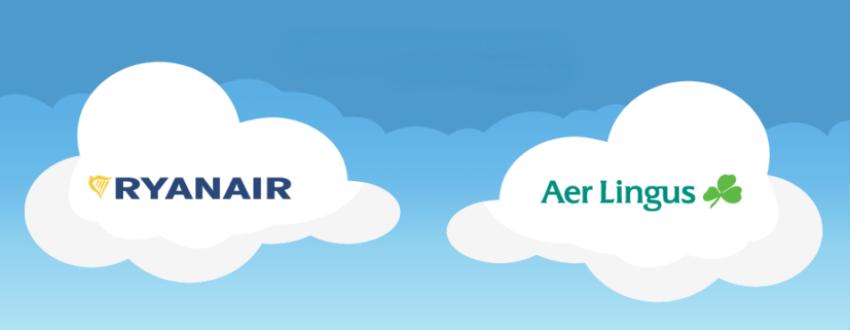 Bagaglio a mano Ryanair e Aer Lingus a confronto