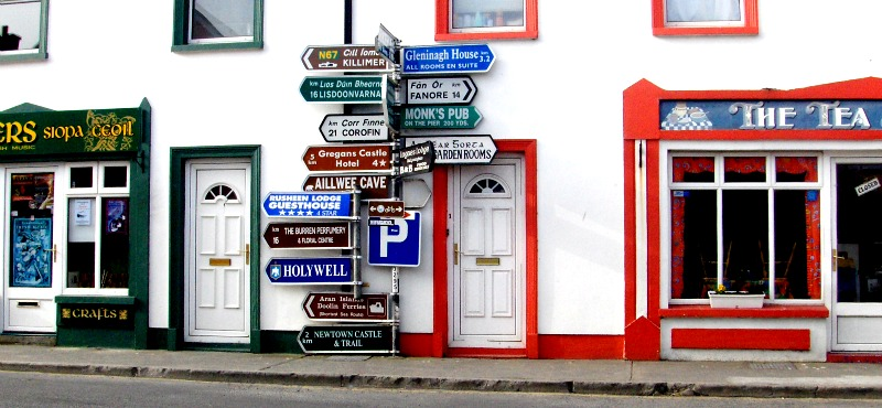 Strade e segnaletica in Irlanda