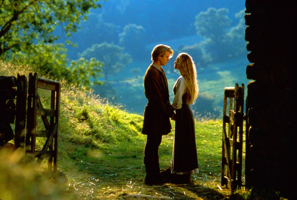 The Princess Bride (1987) A fairy tale about a beautiful girl who is to be married to a nasty prince, but who is in love with another